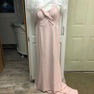 0451cfc9355 Samantha Rose Dresses - Samantha Rose Gia Off The Shoulder Gown